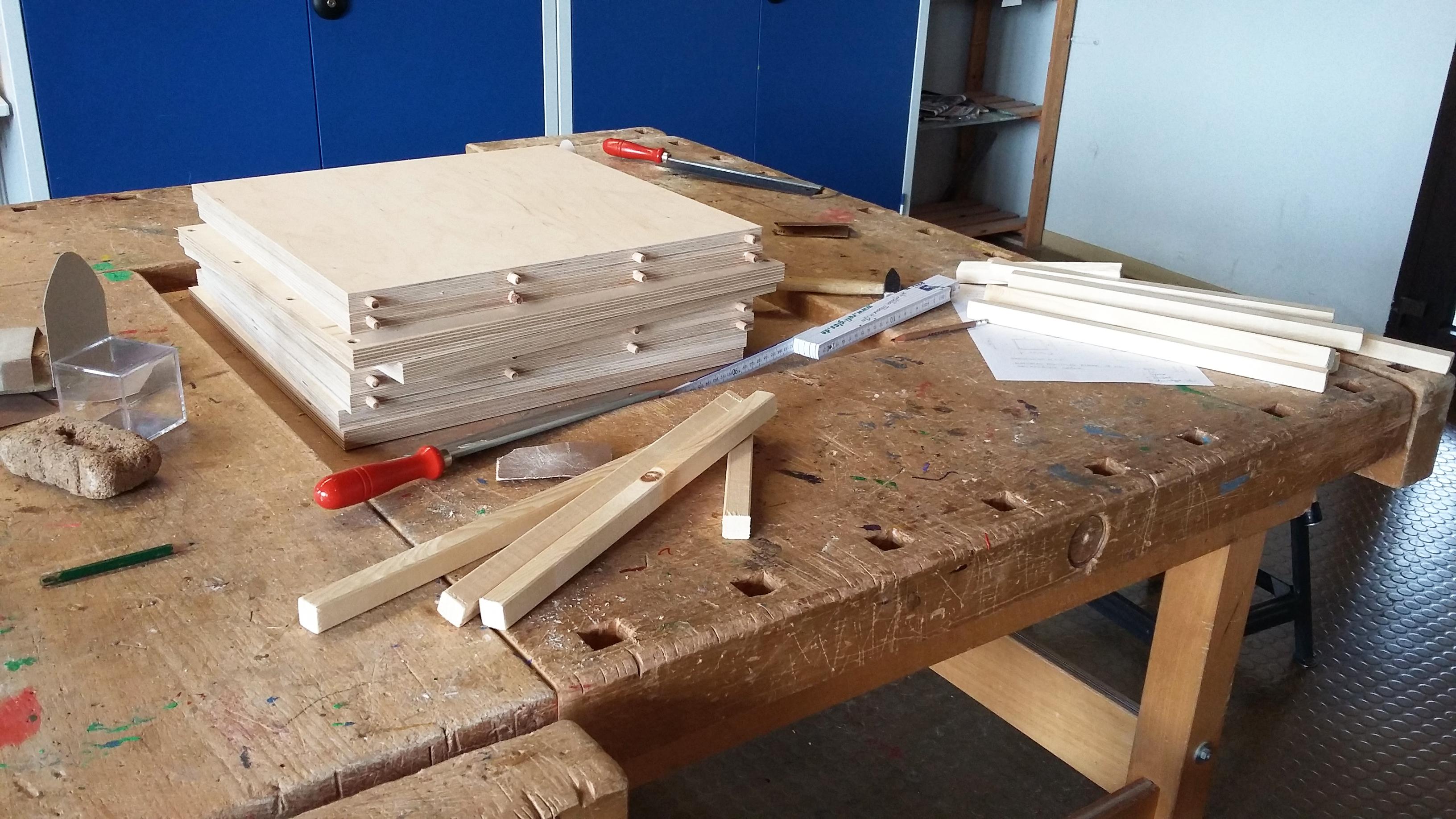 """workshop """"wir bauen unseren eigenen stuhl"""""""