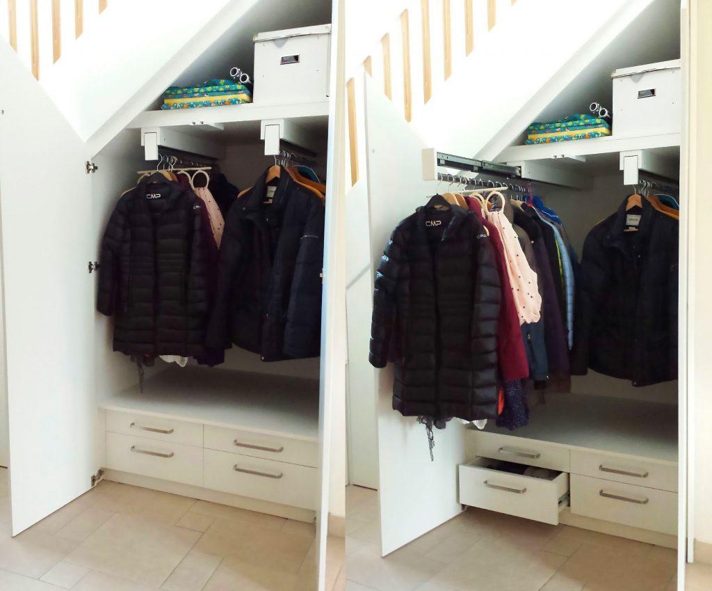 garderobe unter treppe unter treppe schrank unter treppe preis with garderobe unter treppe. Black Bedroom Furniture Sets. Home Design Ideas