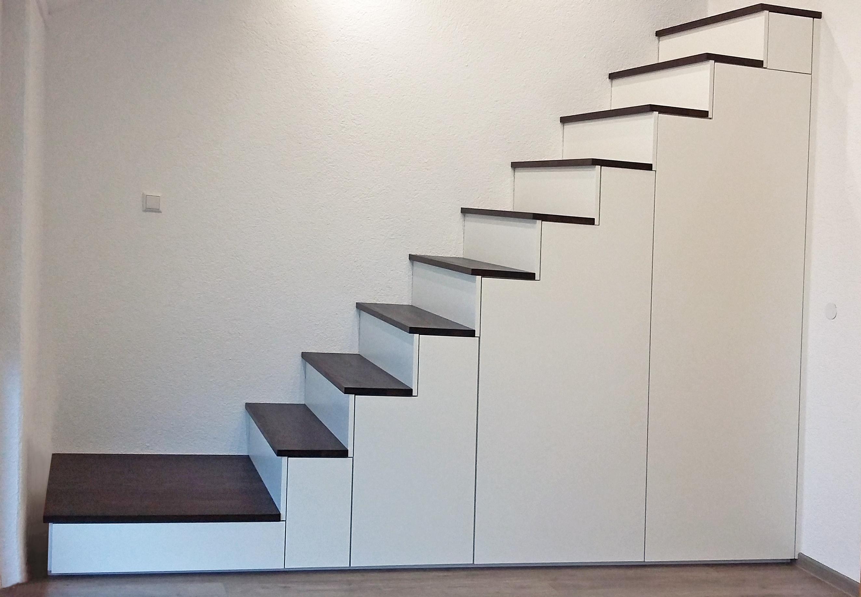 treppenunterschrank – für mehr stauraum unter der treppe